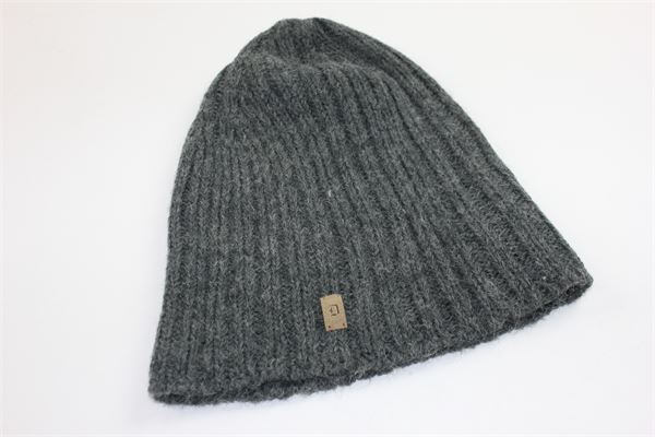 cappello tinta unita con stampa dondup DONDUP | Cappelli | CAPPELLODONDUP1GRIGIO
