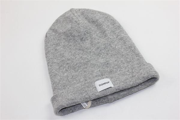 cappello tinta unita con stampa dondup DONDUP | Cappelli | DFCP10GRIGIO