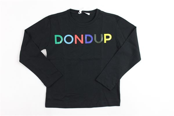 m/l con stampa DONDUP | Shirts | DMTS28JE151NERO