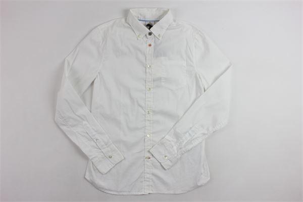 con taschino DONDUP | Camicie | SRC678N0Q8210101BIANCO