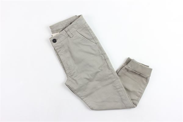 pantalone tasca america tinta unita DOU DOU | Pantaloni | 208204BEIGE