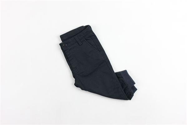 pantalone tasca america tinta unita DOU DOU | Pantaloni | 208204BLUE