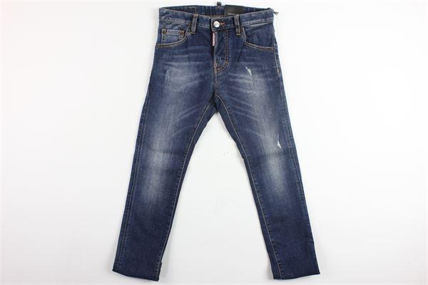 jeans 5 tasche tinta unita DSQUARED | Jeans | DQ01PW-D00IYBLU