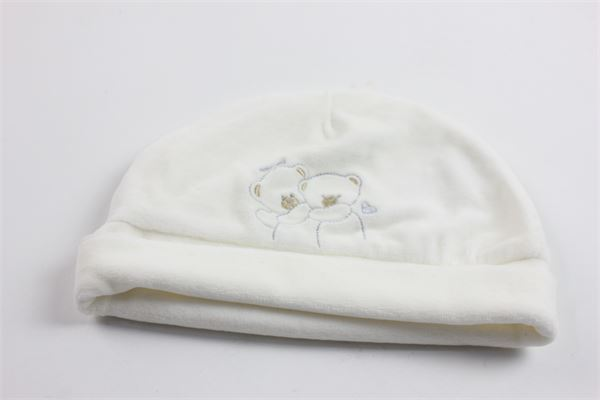 cappello tinta unita stampa orso ELE-BABY | Cappelli | 0018412BIANCO