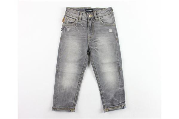 jeans 5 tasche con strappi EMPORIO ARMANI | Jeans | 6Z4J04GRIGIO