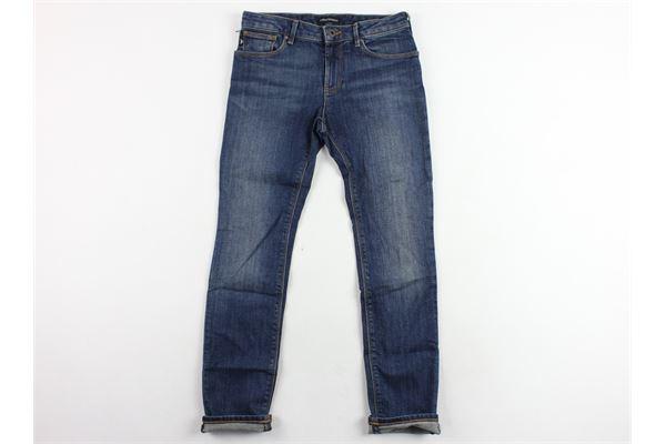 jeans 5 tasche tinta unita EMPORIO ARMANI | Jeans | 8N4J061V0MZBLU