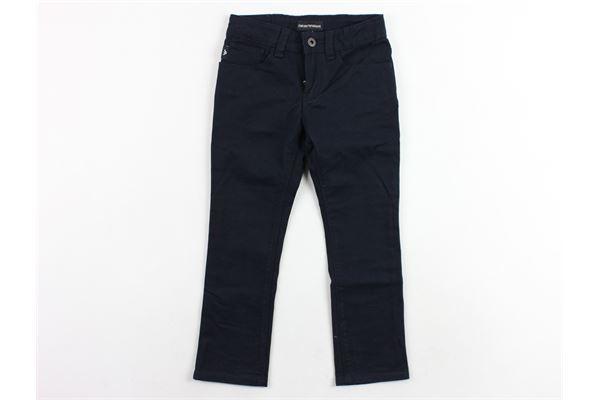 pantalone 5 tasche tinta unita EMPORIO ARMANI | Pantaloni | 8N4J064NJJZBLU