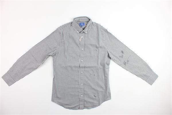 camicia a quadretti FAY | Camicie | NDIA135738LGRIGIO
