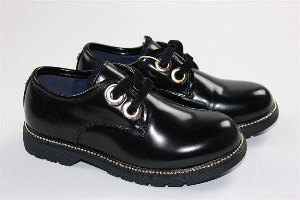scarpa bassa lucida allacciata GIOSEPPO | Scarpe | 41614NERO