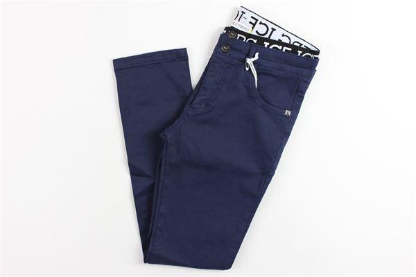 5 tasche elastico in vita ICEBERG | Pantaloni | PTICE183300JMBLU