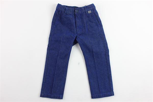 pantalone tasca america tinta unita IL GUFO   Pantaloni   A18PL133C0047COBALTO