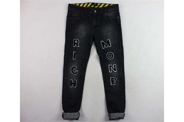 jeans 5 tasche con stampa richmond JOHN RICHMOND   Jeans   BP18GRIGIO