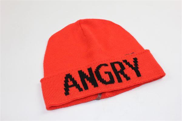 cappello tinta unita con stampa angry LIU JO | Cappelli | G68112MA28HARANCIONE