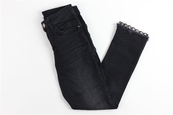 jeans con borchie LIU JO   Jeans   G68164D4291NERO