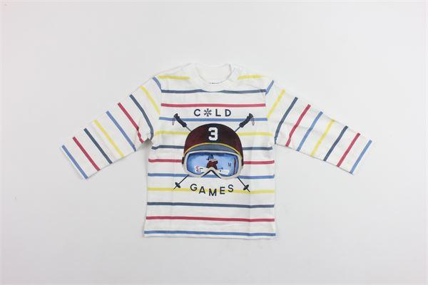shirt m/l con stampa MAYORAL | Shirts | 2018BIANCO
