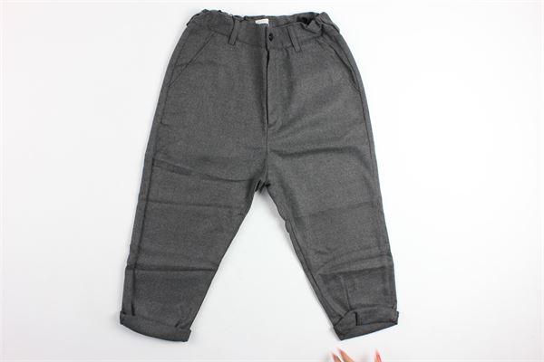 pantalone tinta unita tasca america MOOD_ONE | Pantaloni | 302GRIGIO