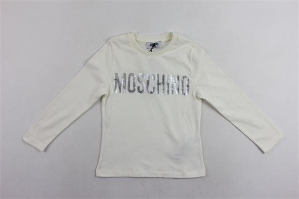shirt m/l con stampa moschino MOSCHINO   Shirts   HTM01PBIANCO