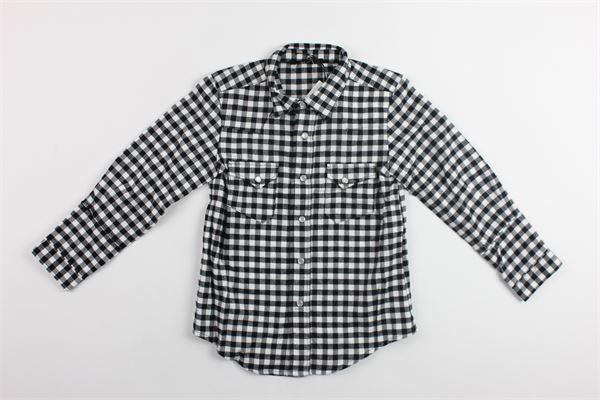 camicia m/l fantasia a quadri N°21   Camicie   27XY5001917NERO