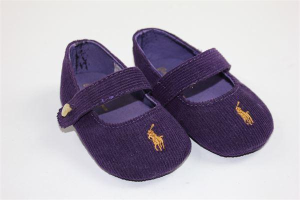 scarpe modello ballerine tinta unita RALPH LAUREN | Scarpe | SH0058Y18PVIOLA