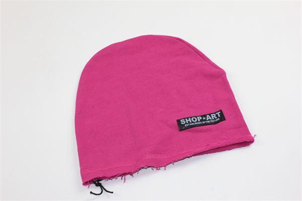 cappello tinta unita con stampa shopart SHOPART | Cappelli | 011618FUCSIA