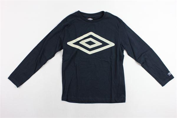 shirt m/l con stampa UMBRO | Shirts | 018016BLU