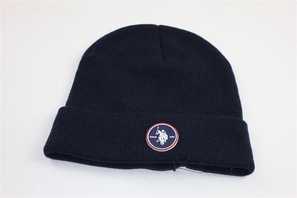 cappello tinta unita con logo U.S. POLO | Cappelli | 51318BLU