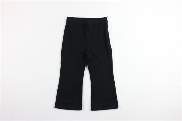 pantalone in felpa a zampa VIVETTA   Pantaloni   84VB520NERO