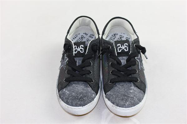 sneakers tinta unita 2STAR | Scarpe | SCARPE2STAR1NERO