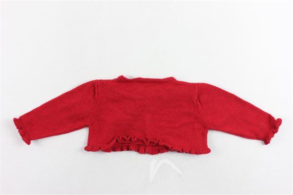 coprispalle tinta unita con rouches e fiocco ALETTA | Coprispalle | MRS33393777ROSSO