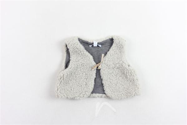 gilet modello teddy ALETTA | Gilet | RJ777208BEIGE