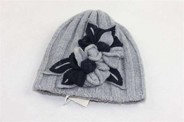 cappello tinta unita con applicazioni ALETTA | Cappelli | ZF444665GRIGIO