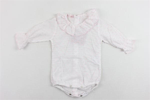 camicia manica lunga tinta unita microfantasia ALEXIA | Camicie | CAMICIAALEXIA1BIANCO