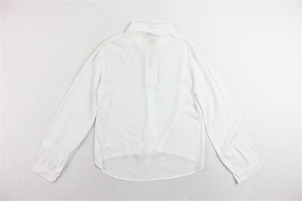 camicia manica lunga tinta unita ALICE PI | Camicie | 8001BIANCO