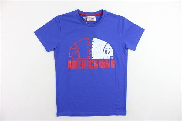 AMERICANINO | T-shirts | 2631M0069MCBBLU