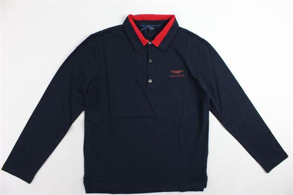 ASTON MARTIN | Polo Shirts | 3H8280HX260BLU