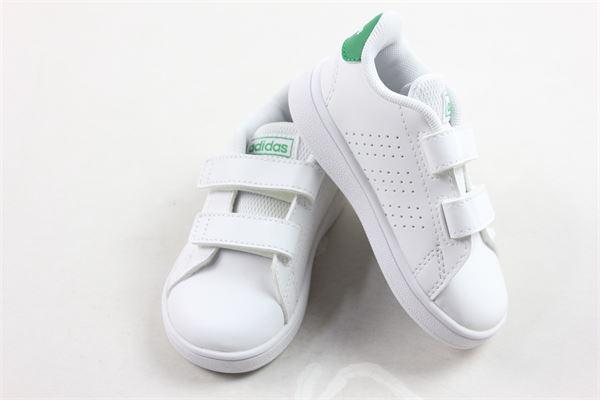 sneakers bassa con strappi tinta unita Adidas | Scarpe | EF0223BIANCO