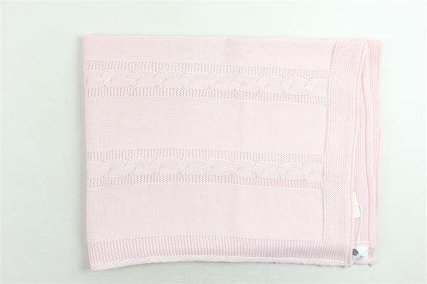 coperta in lana vergine tinta unita BABY LORD | Coperte | COPERTABABYLORD2ROSA