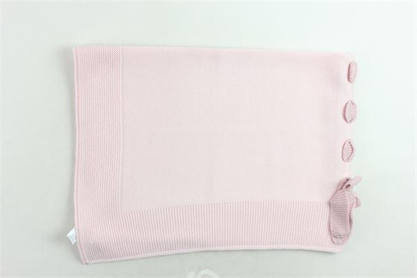 coperta in lana vergine tinta unita BABY LORD | Coperte | COPERTABABYLORD3ROSA