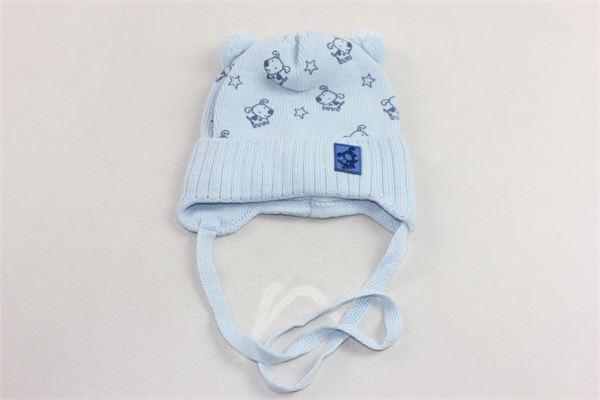 cappello in lana con lacci pon pon e microfantasia BARBARAS | Cappelli | WO24/MCCELESTE