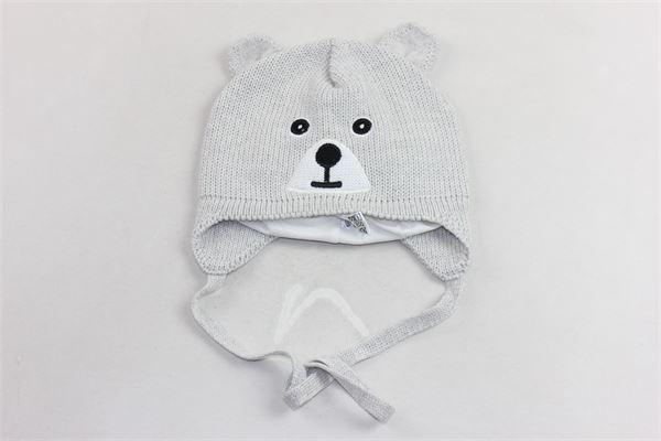 cappello in lana con lacci fantasia orso BARBARAS | Cappelli | WV54/OCGRIGIO