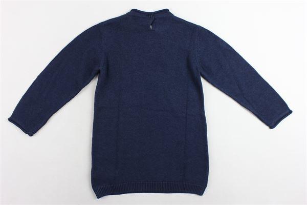 maglione girocollo maxi pull con stampa BIRBA | Maglie | 403767490070CBLU