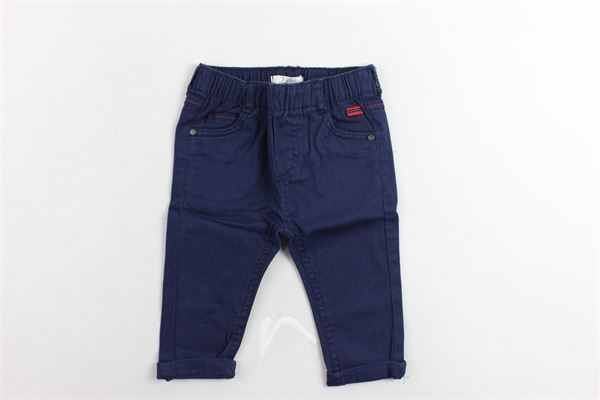 pantalone 5 tasche elastico in vita tinta unita BIRBA | Pantaloni | 999720100070FBLU