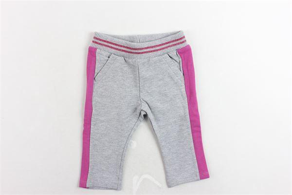 pantalone tuta felpato tinta unita bande in contrasto BIRBA | Pantaloni | 999720250048DGRIGIO