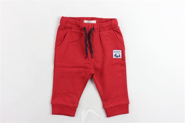 pantalone tuta felpato tinta unita BIRBA | Pantaloni | 99976520056QROSSO