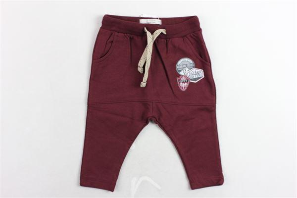 pantalone tuta felpato tinta unita  con stampa BIRBA | Pantaloni | 99976530056SBORDEAU