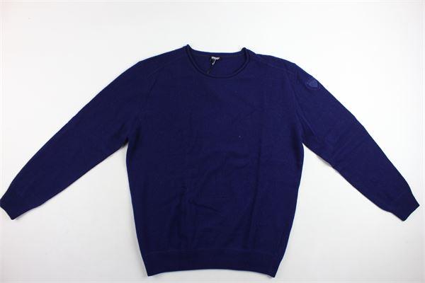 maglione girocollo tinta unita BLAUER | Maglie | 16WBLUM01351004307BLU