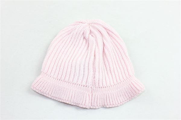 cappello in lana tinta unita con fiocco BLUMARINE | Cappelli | 35HP0077ROSA