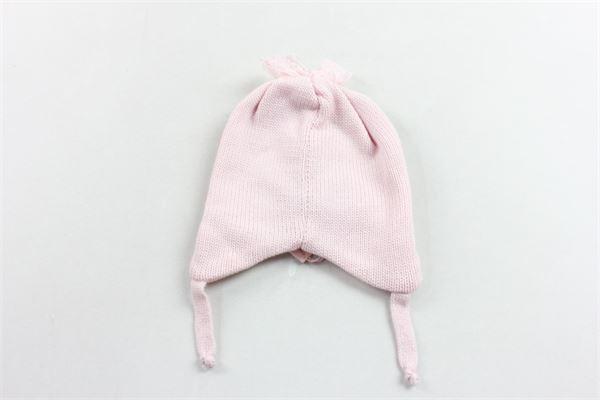 cuffia in lana tinta unita con brillantini BLUMARINE | Cappelli | 35NPP09ROSA