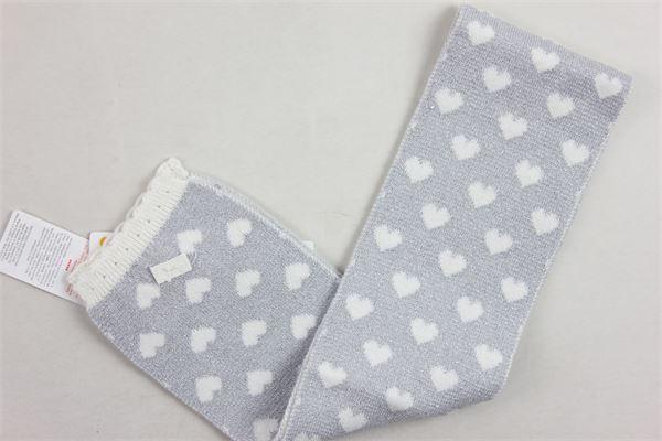 sciarpa tinta unita in lurex BOBOLI | Sciarpe | 704269BIANCO