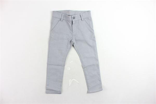 pantalone girovita regolabile tasca america microfantasia BOBOLI | Pantaloni | 718062GRIGIO